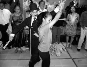 Chaplin-Show-Walkact